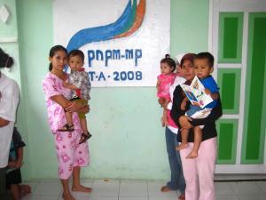 Posyandu PNPM Mandiri anggaran 2008